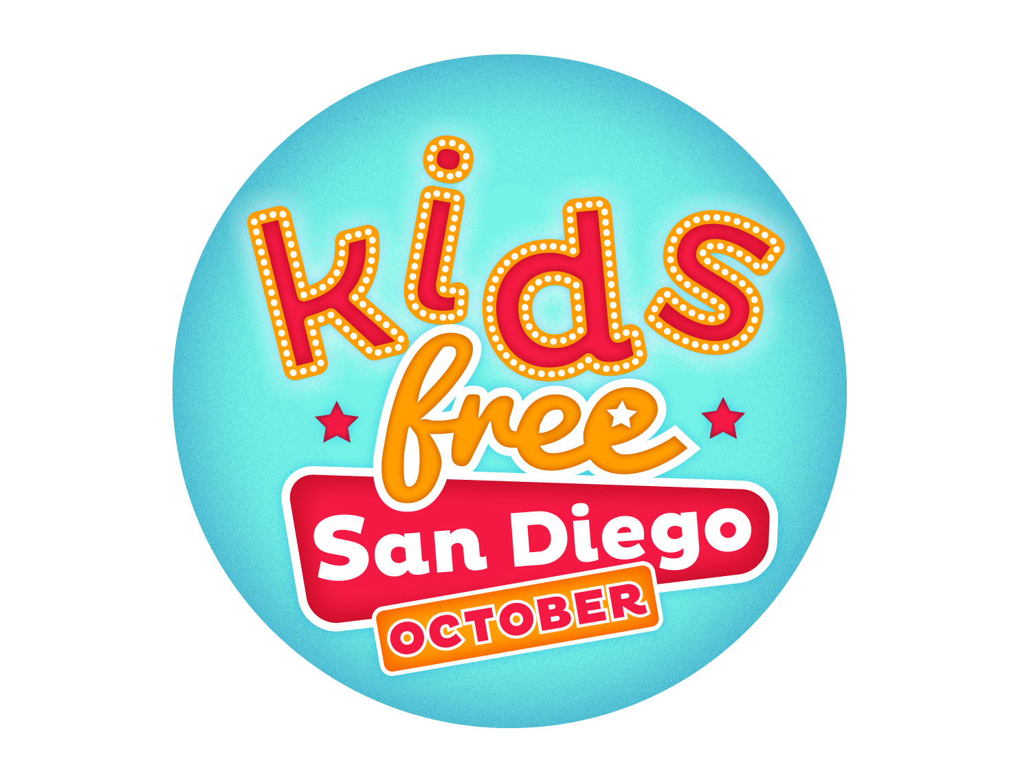 Kids Free in October Logo