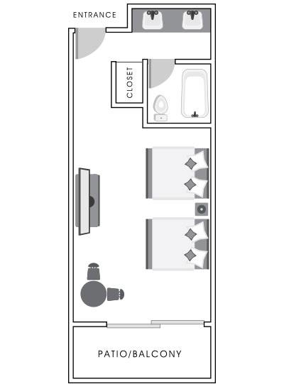 Bay Front Room Map