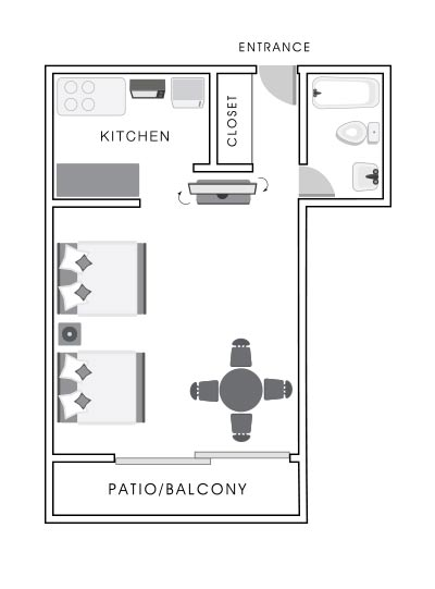 Studio Room Map