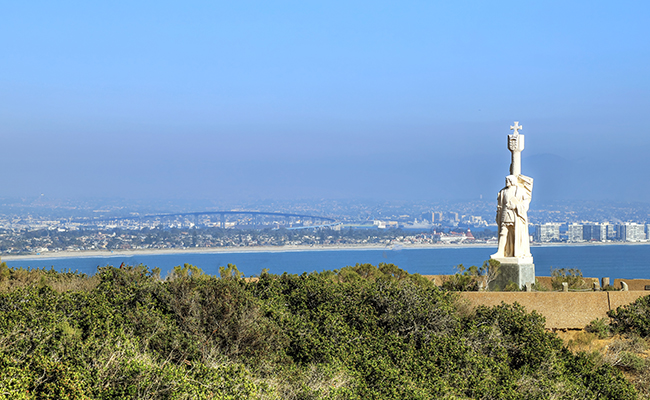 Cabrillo Monument in San Diego